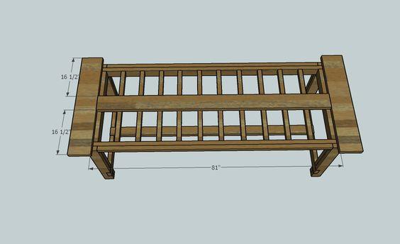 Farmhouse Table Plans Darrell s Pinterest