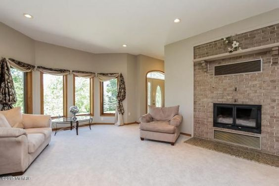 Gorgeous Bay Windows in the cozy living room.  MLS: 15033677