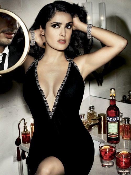 "Salma Hayek ""ts gettin smokin hot in here!....I need a shoot like this!"