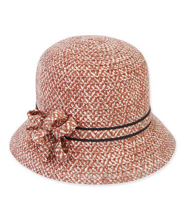 Another great find on #zulily! Rust Bow Cloche #zulilyfinds