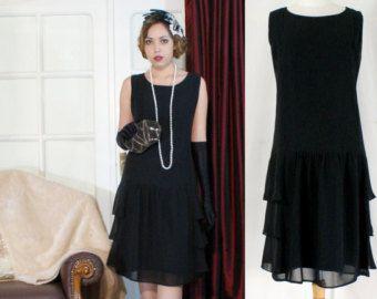 1920s Flapper Blue Dresses And Skirts On Pinterest