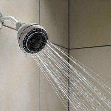 Home Collections 7 Function Shower Head.  Create a customizable shower experience with the Home Collections 7-function Shower head.