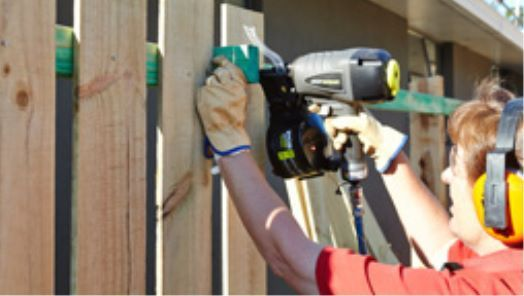 How To Install Fence Palings Bunnings Warehouse Building A Fence Diy Fence Fence