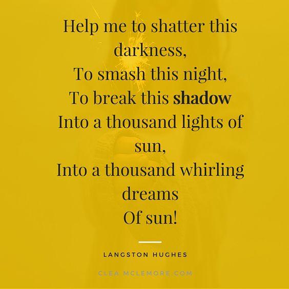 As I Grew Older, by Langston Hughes