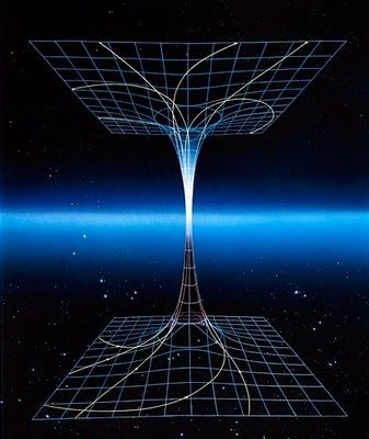 Parallel universes - Black Hole connected to a theoretical ...