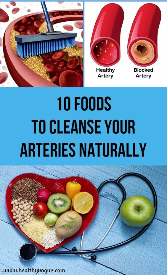 10 Foods To Cleanse Your Arteries Naturally Heart Healthy Food List Foods For Heart Health Heart Healthy Diet