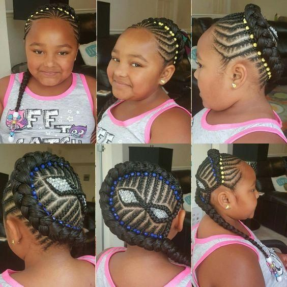 Top 20 Best Black Braids Hairstyles For Kids Lovely Kids
