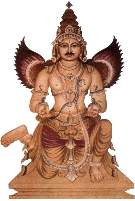 Garuda, Carrier of Lord Vishnu.- https://ramanan50.wordpress.com/2014/08/05/serious-illness-ward-off-black-magic-ashu-garuda-dandakam/