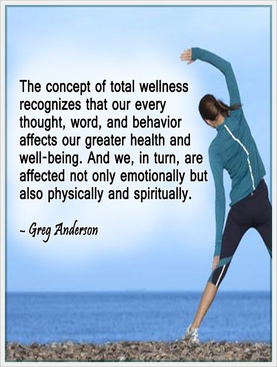 the concept of total #wellness