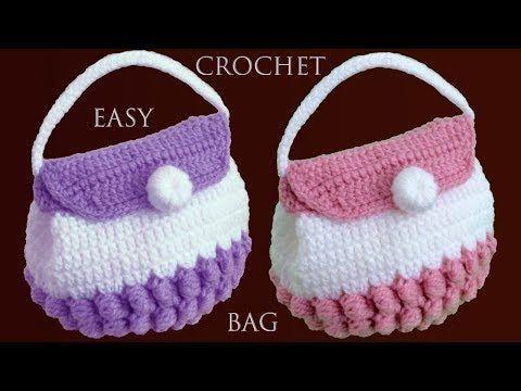 Bolso A Crochet Facil