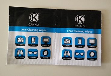 Lens Cleaning Wipes by Camkix