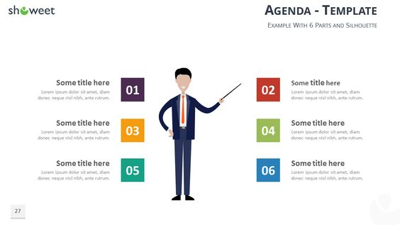 Free Table Of Contents  Agenda Templates For Powerpoint And