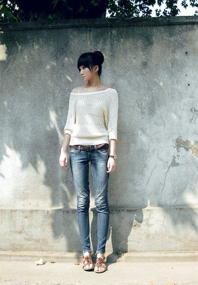 love the simplicity in this outfit