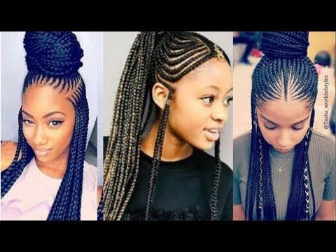 Ghana Weaving Braids Hair Styles Lastest African Hairstyles For That Special Occasion Youtube Hair Styles African Hairstyles Braided Hairstyles