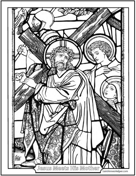catholic bible stories coloring pages - photo#26