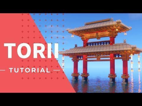 マインクラフト カッコいい海上の鳥居の作り方 和風建築 Youtube