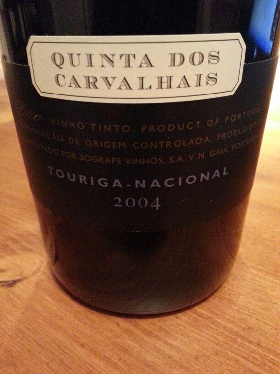 Quinta dos carvalhais touriga nacional 2004   Drink sleeves, Koozies, Drinks