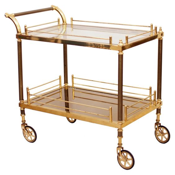 40's French Bar cart