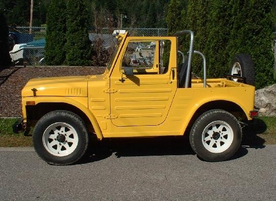 Lj80 For Sale >> Suzuki LJ80 | CARACTERS_Suzuki Jimny LJ80 SJ413 | Pinterest