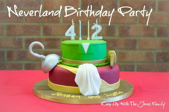 Our Neverland Birthday Party: Part I (The Details) Faith, Trust, and Edible Pixie Dust.  Keep Up With The Jones Family
