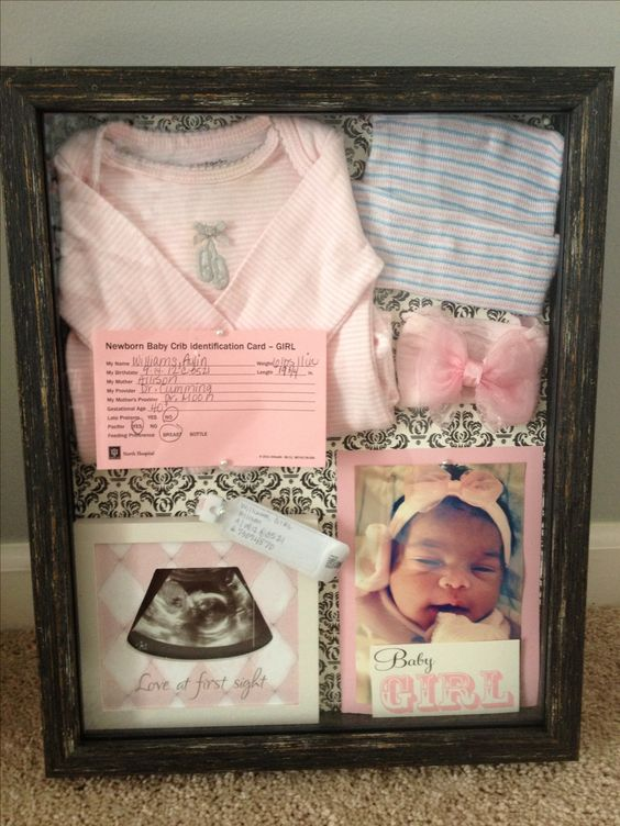 Baby Aylin's Shadow Box