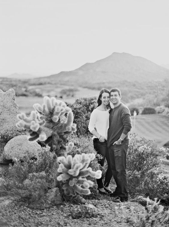 Julie & Dave's Engagement Shoot Photo By Melissa Jill Photography