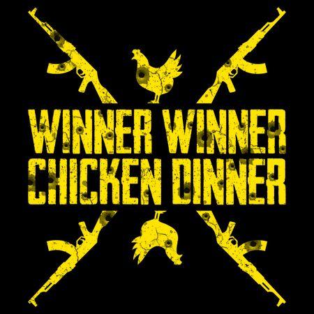 Winner Winner Chicken Dinner Pubg Mobile Wallpapers Chicken Dinner Winner Winner Chicken Dinner Gaming Wallpapers