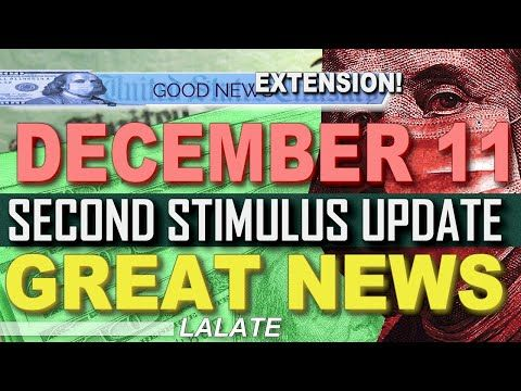 Finally Second Stimulus Check Update December 11 Stimulus Bill Pua Fpuc Second Stimulus Package Youtube December December 11 Bills