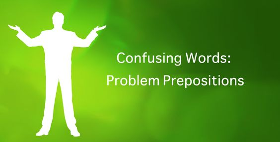 Problem prepositions can be tricky. #writing #english #tutorial
