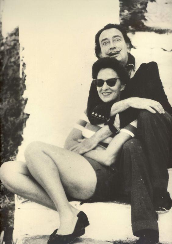 Gala & Salvador Dali, Foto: privat Art-Galery.de