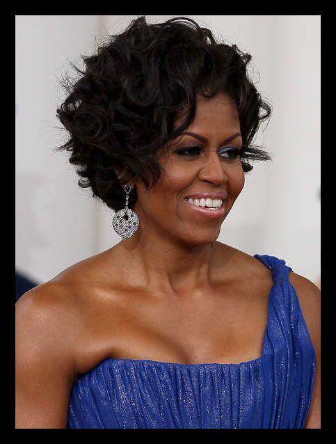 Michelle Obama Bob Haircut Womanadvise Womanadvise Com Short Wavy Hairstyles For Women Short Natural Hair Styles Short Wavy Hair
