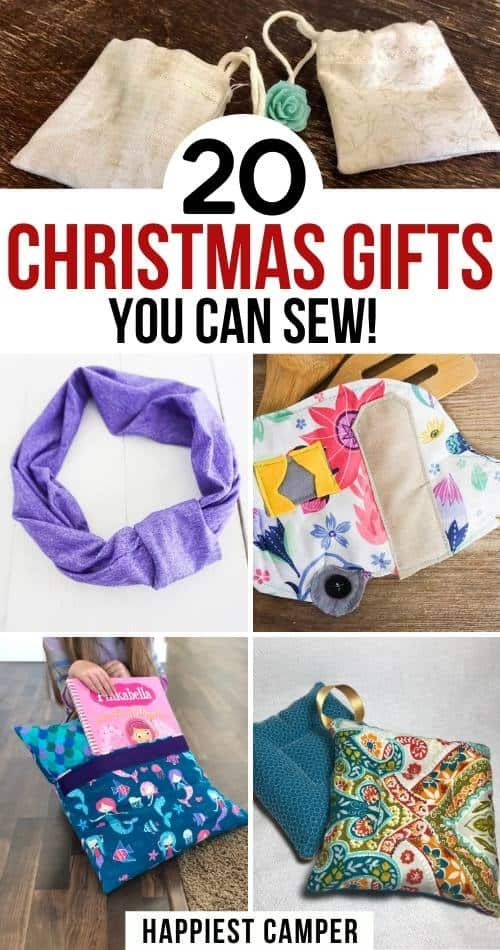 Easy Sew Christmas Gifts Sewing Christmas Gifts Easy Sewing Diy Sewing Gifts