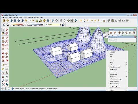 Sketchup Course 6 Sandbox Tools Youtube