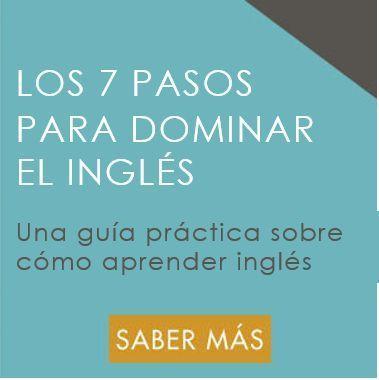 Los 7 Pasos Para Dominar El Inglés Aprender Ingles En Casa Ingles Palabras Inglesas