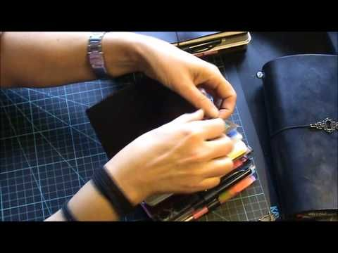 Traveler's Notebooks and how I stay organised, part 2 - YouTube
