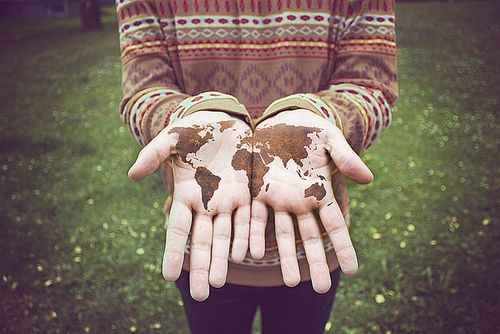 the world's in our hands