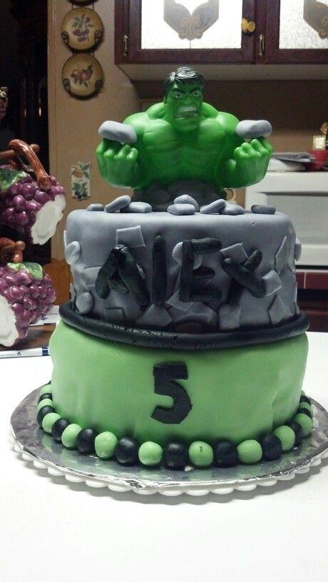 Hulk cake  Cakes  Pinterest  Hulk cakes, Cakes and Hulk
