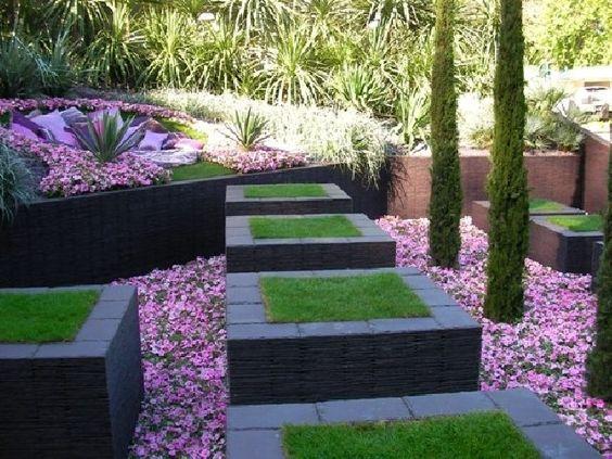 Kleinen Garten-gestalten Architektonische Formen-wege Anlegen ... Kleinen Garten Gestalten Bilder