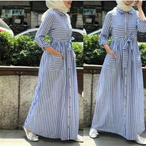 Hijab Outfits In Summer Spirits Hijab Fashion Muslimah Dress Muslim Fashion Outfits