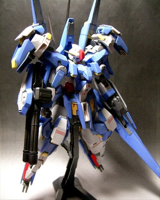 Custom Build: 1/144 Gundam AGE-3 'Avalanche orbital - Gundam Kits Collection News and Reviews