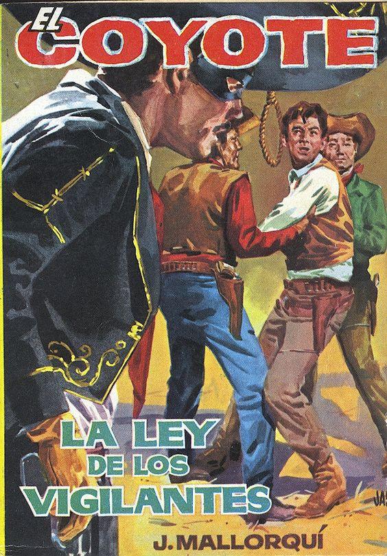 La ley de los vigilantes. Ed. Cid, 1961 (Col. El Coyote ; 28)