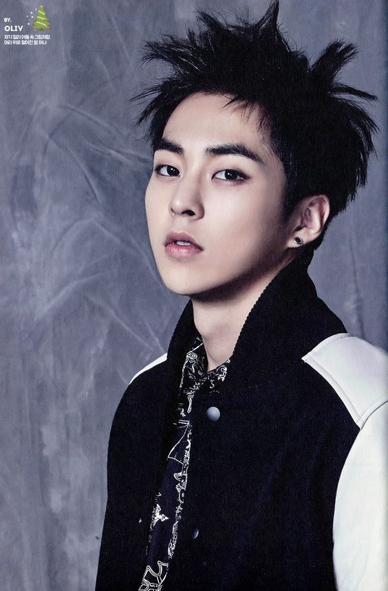 XIUMIN // 2015 Season's Greetings official calendar