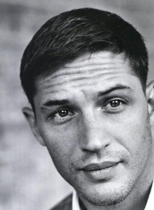 Tom Hardy. Being sexy as hell. No shocker there.