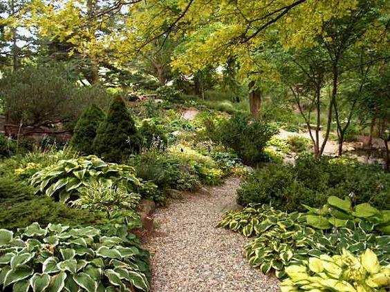 hidden garden path