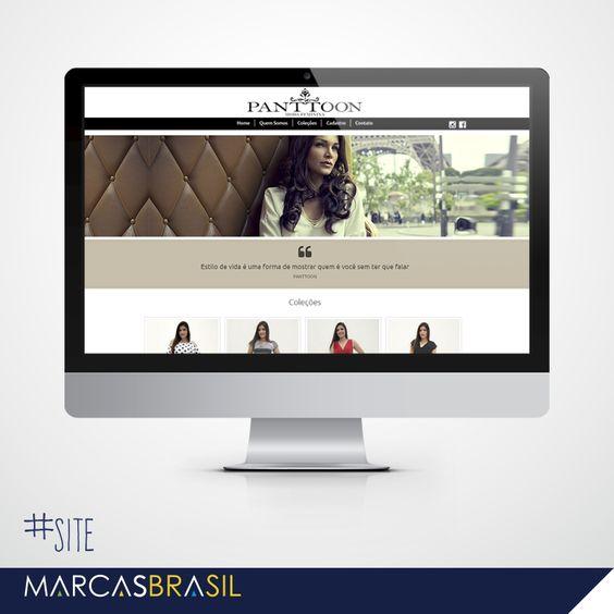 Site – Panttoon Moda Feminina > Desenvolvimento de site para loja Panttoon Moda Feminina <  #site #marcasbrasil #agenciamkt #publicidadeamericana