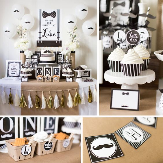Mustache Birthday Mustache Bash Mustache Party by maydetails