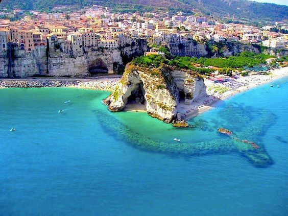 Calabrian Coast in Southern Italy