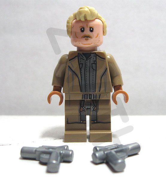 Lego Star Wars Tobias Beckett minifigure from set 75215