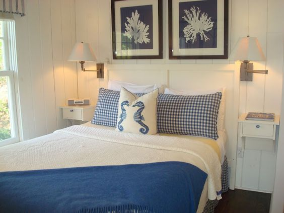 Love the simplicity and color scheme of this Cabot Cove Cottage