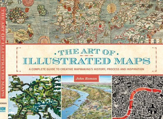 JOHN ROMAN: THE ART OF ILLUSTRATED MAPS